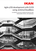 Agile zOS development using Jenkins CloudBees preview